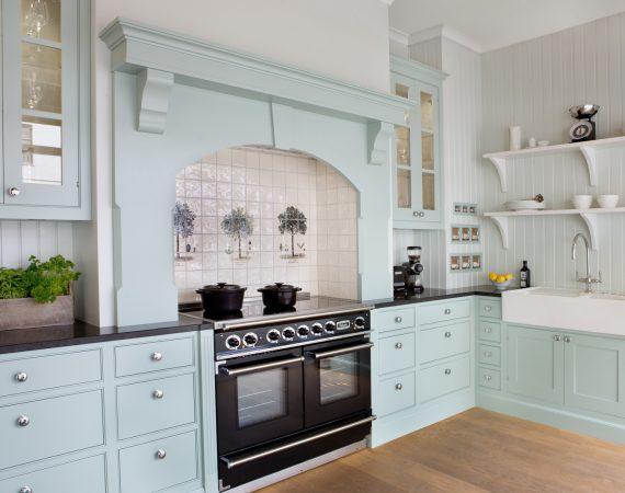 Continental 1092 Sort i et lekkert Lidhults kjøkken, fotokred Annette Nordstrøm
