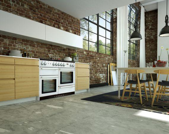 NEXUS 110 Hvit i moderne kjøkken