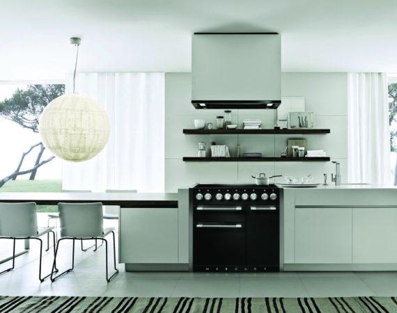 Mercury 100 i et moderne hjem